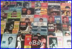 Elvis Presley- Massive lot of 45 Picture Sleeves 38 WITH RECORDS- Awesome