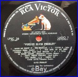 Elvis Presley- Mega Mega Rare Elvis Is Back From Colombia