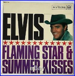 Elvis Presley- Mega Rare Uk Orange Label Summer Kisses Winter Tears