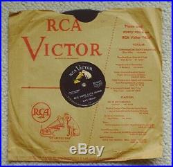 Elvis Presley Money Honey / One Sided Love Affair 78 Rca # 20-6641 Free S&h