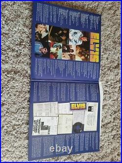 Elvis Presley Moody Blue 2 Lp Clear Vinyl Ftd Set Hand Numbered