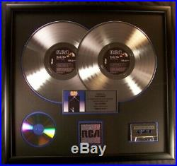 Elvis Presley Moody Blue LP Platinum X2 Non RIAA Record Award RCA Records