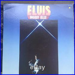 Elvis Presley Moody Blue ULTRA rare gold vinyl LP