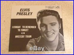 Elvis Presley Mystery Train 1955 Rca 47-6357 Rare Record Preview $500 Bk