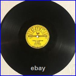 Elvis Presley Mystery Train I Forgot To Remember VG ORIG SUN 223 ROCKABILLY 78