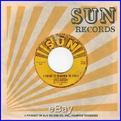 Elvis Presley Mystery Train /I Forgot to Remember to Forget Sun 223 Orig. 1955