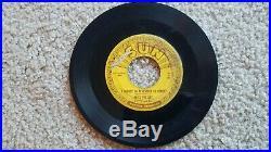 Elvis Presley Mystery Train ORIGINAL SUN RECORDS 45 G+ 1955