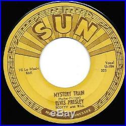 Elvis Presley Mystery Train Sun 223 Original