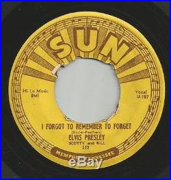 Elvis Presley Mystery Train Sun 223 Original Rockabilly Listen