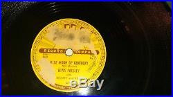 Elvis Presley Original 1954 Sun Record #209 That's All Right 78rpm