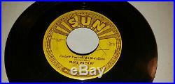 Elvis Presley Original 1955 Sun 217 Baby Let's Play House / I'm Left