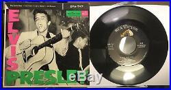 Elvis Presley Original 1956 US 7 Vinyl EP RCA Victor EPA-747 VG++ Sun Records