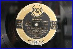 Elvis Presley, Original Aussie 1st Pressing 1956, RCA Black and Gold Label