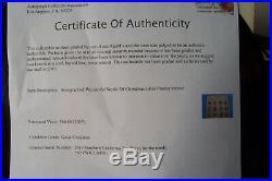 Elvis Presley Original Autograph Signed Christmas Record Album With Coa Excellen