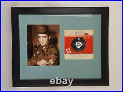 Elvis Presley Original RCA 7 Baby dont care signed by Elvis on Frontcover 1959