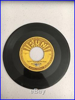 Elvis Presley Original Sun 45 Baby Let's Play House/I'm Left You're Right Good+