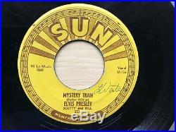 Elvis Presley Original Sun Record 45 Mystery Train 223 1955 Error Label