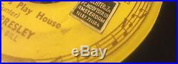 Elvis Presley Original Sun Records Baby Lets Play House 45 Rpm, Sun 217, 1955