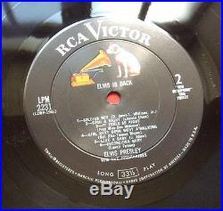 Elvis Presley- Original USA Elvis Is Back-very Nice Condition