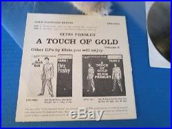 Elvis Presley RARE EPA-5141 A TOUCH OF GOLD VOL 3 45 RPM