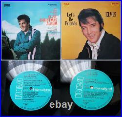 Elvis Presley RCA LP Sammlung Deutsche Erstpressungen aus den 70er Jahren