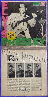 Elvis Presley RCA-LPM-1254 Mint Historic LP Offer In Original Baggie