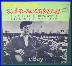 Elvis Presley RCA Mean Woman Blues EP With Sleeve Original SCP-1240 1965