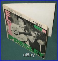 Elvis Presley RCA SPD-22 EP Original 1956 Cover Only VG+