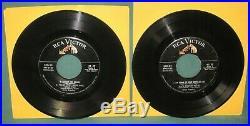 Elvis Presley RCA SPD-23 EP Original 1956 2 Records Sides 2/5 & 3/4 No Cover
