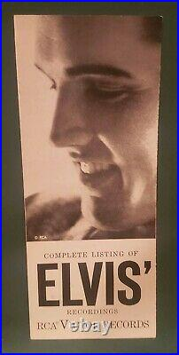 Elvis Presley RCA Victor Records Complete Catalog 1959 Original RARE