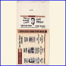 Elvis Presley RCA Victor SDS-57-39 Dealer's Prevue (EP) sleeve only 1957
