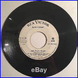 Elvis Presley RCA Victor SP-45-139 WL PROMO ONLY Roustabout / One Track Heart VG