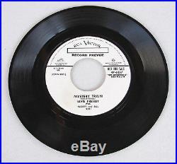 Elvis Presley RECORD PREVUE 1955 PROMO Mystery Train 47-6357 MEGA RARE