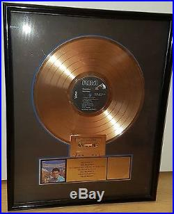 Elvis Presley RIAA record award gold record ROUSTABOUT