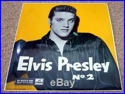 Elvis Presley, ROCK n ROLL No 2 ORIGINAL 1957 UK 1st ISSUE HMV RECORDS LP
