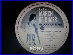 Elvis Presley Rare 1957 March Of Dimes Galaxy Of Stars Lp Ex-nm