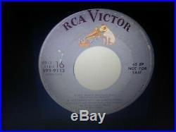Elvis Presley Rare Heartbreak Hotel Gray Label Promo 45 Ep Excellent 1956