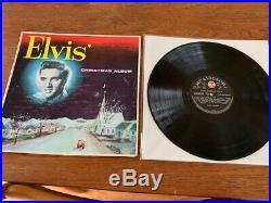 Elvis Presley Rare New Zealand Christmas Album- Different Cover- Super Rare