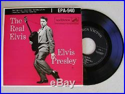 Elvis Presley Rare Original 1956 Pressing NO DOG LABEL EPA-940 THE REAL ELVIS