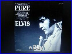 Elvis Presley Rare Our Memories Of Pure Elvis White Label Promo Lp Vol. 2 Nm