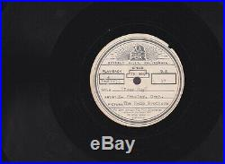 Elvis Presley Rare Rare Acetate From The Reno Brothers Producer Owned Look