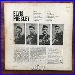 Elvis Presley Rare Rca Victor 1956 Lpm1254 Us Pale Pink Sleeve Vinyl Lp