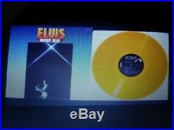 Elvis Presley Rare Yellow Vinyl Moody Blue Lp 1977 Ex-nm