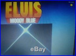 Elvis Presley Rare Yellow Vinyl Moody Blue Lp 1977 Ex-nm B