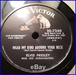 Elvis Presley Rca 7240 Nm- Wear My Ring Around Your Neck