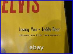 Elvis Presley Rca Italiana Italy 1958- Super Rare Nice Condition Ep 45n0611
