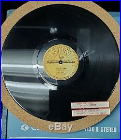 Elvis Presley Reissued 78 Rpm With Tags unbreakable