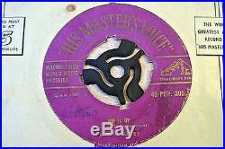 Elvis Presley/Rip It Up/1957 HMV 7 Single/Gold Text