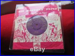 Elvis Presley Rip It Up / Baby Let's Play House 1957 Hmv 45 Removable Centre Vg+