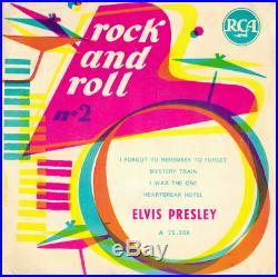Elvis Presley Rock And Roll N°2 (la Batterie) Original 1956 France Ep 75.309
